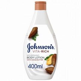 جونسون، لوشن للجسم، Vita-Rich، تغذية،400 مل